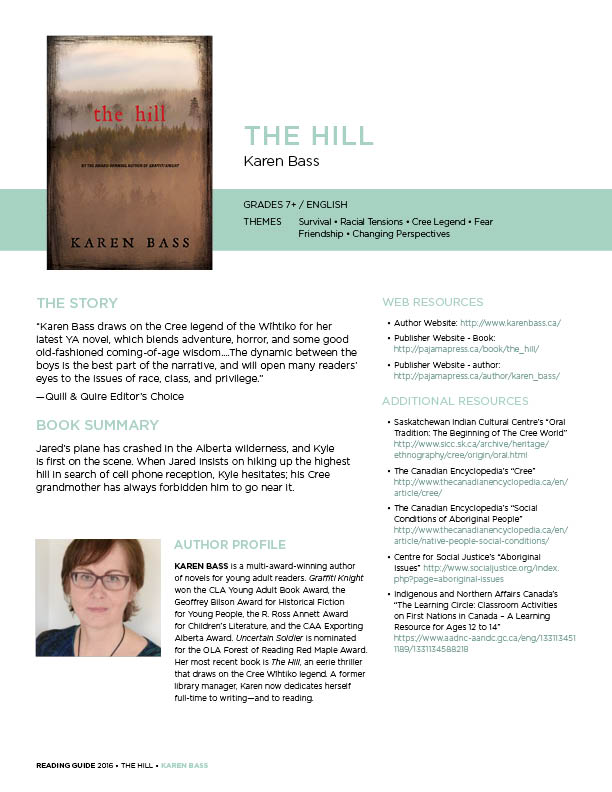 Karen Bass The Hill Reading Guide 2016
