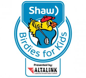 Shaw Birdies for Kids presented by Altalink Logo